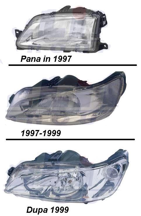 Pret Faruri stanga, dreapta Peugeot 306 1997-prezent