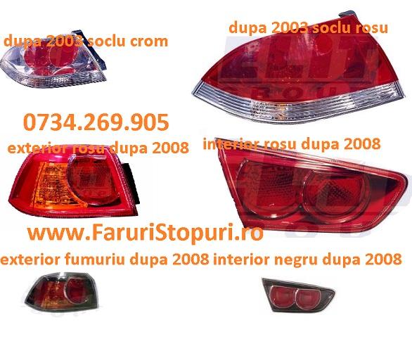 Pret Stopuri stanga, dreapta Mitsubishi Lancer 2003-2014