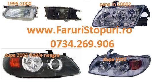 Faruri stanga, dreapta Nissan Almera 1995-2014