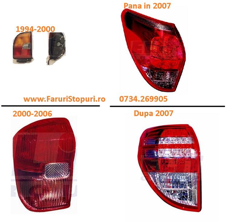 Pret Stopuri stanga, dreapta Toyota Rav 4 1999-2014