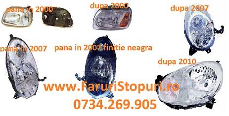 Pret Faruri stanga, dreapta Nissan Micra 1998-2014